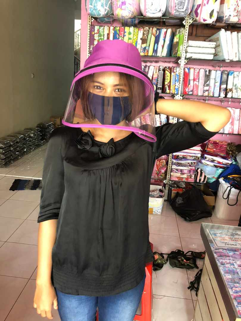 Topi Face Shield